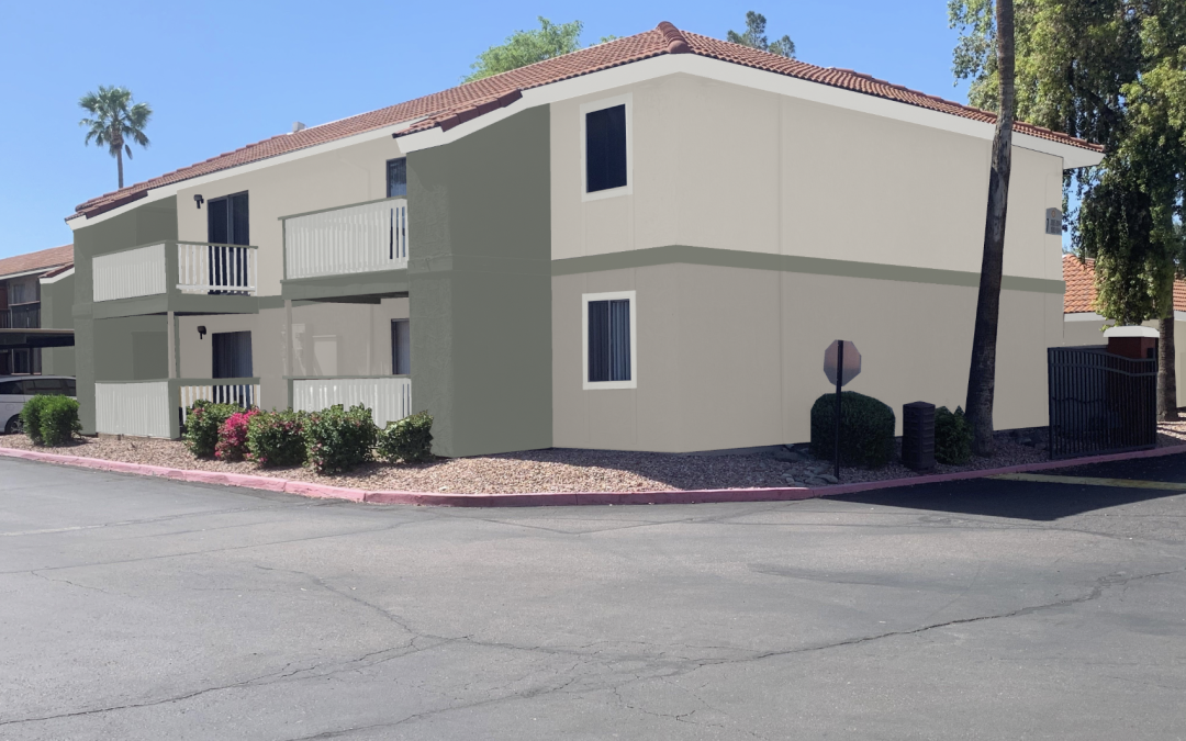 Highlights:  Arizona 1980's Multifamily Makeover